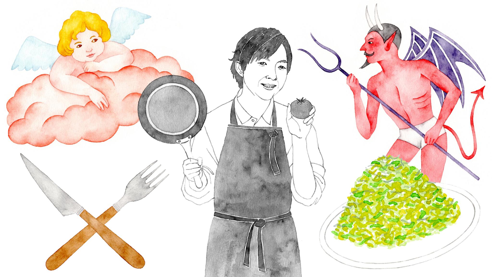 健康をつくるのはあくまで自分 自炊の伝道師・料理研究家リュウジ