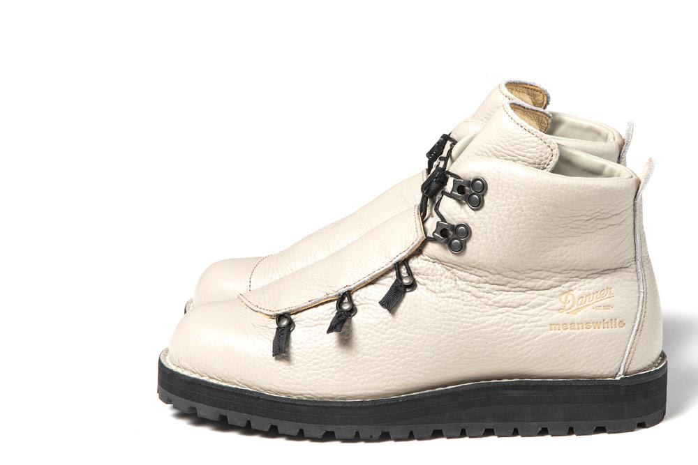 ダナーの傑作ブーツが、シュリンクレザー&スピードレースでアップデート! ミーンズワイルとの人気コラボ最新作。