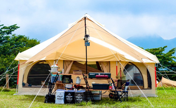 8人以上収容可能な大型テントのおすすめ13選!大人数でも広くて快適