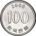 100 Won Coin