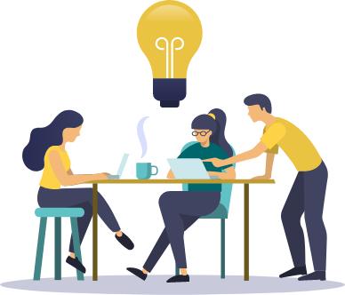 クリエイティブなオフィス環境で創造性を高める