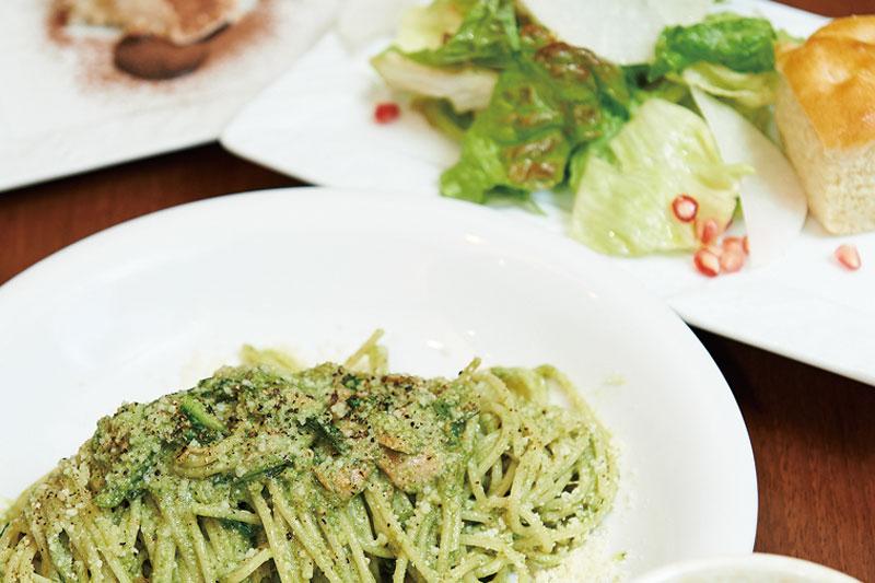 新鮮食材を使用した、ナチュラル系イタリアン