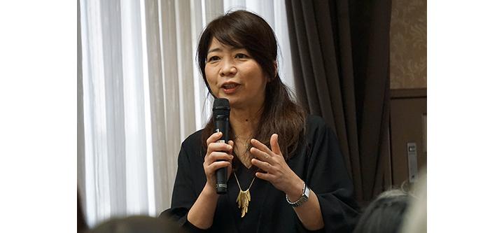 奥田伴子さん
