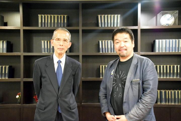 長尾真氏と岡本真氏