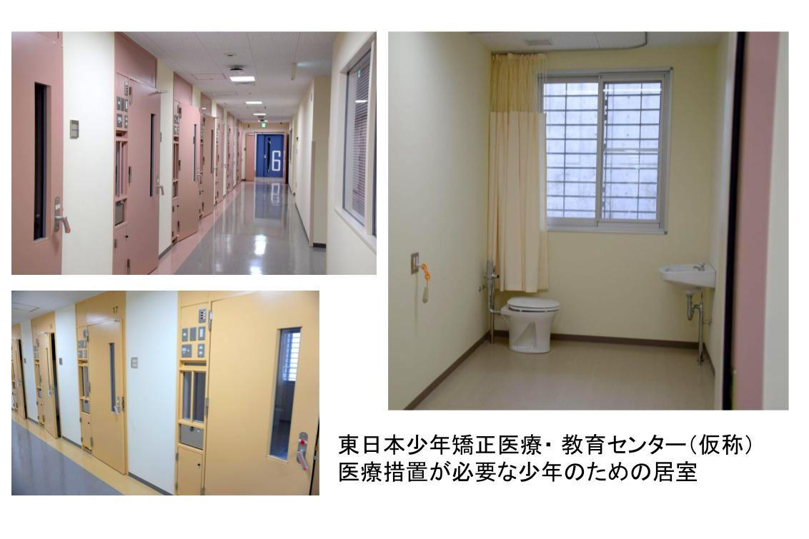 東日本少年矯正医療・教育センター、医療措置の必要な少年のための居室
