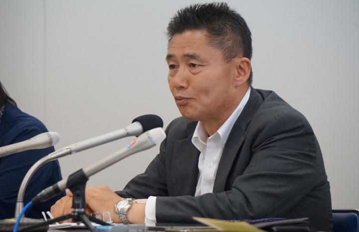 鳥井一平さん(5月22日、編集部撮影)