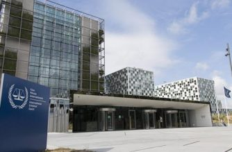 The International Criminal Court at the Hague in the Netherlands.  (Photo from International Criminal Court website)