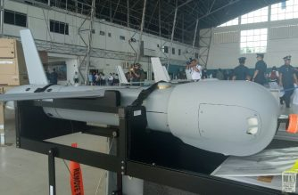 One of the six UAVs purchased by the Philippines via a foreign military financing grant from the United States in the Villamor Airbase/Mar Gabriel/Eagle News/