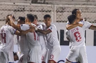 The Philippines made it to its first-ever stint in the prestigious Asian Cup after beating Tajikistan, 2-1, on Monday. /AFC/