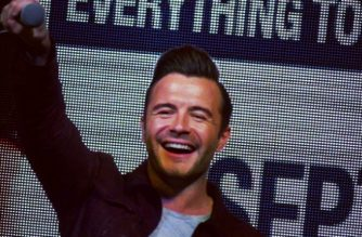 Shane Filan of Westlife arrives in PHL