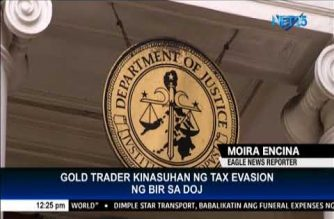 "BIR sues gold trader for ""willful failure"" to pay taxes"