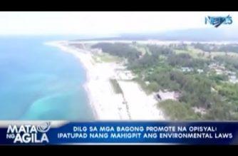 DILG sa mga bagong promote na opisyal: Ipatupad nang mahigpit ang environmental laws