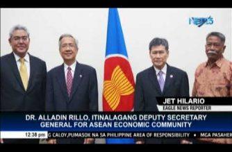 Filipino is new ASEAN Economic Community deputy secretary-general