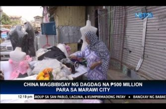 China to give P500-M assistance for Marawi rehabilitation