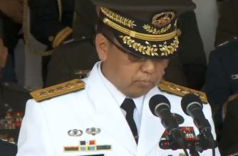 Lieutenant General Carlito Galvez who served as overall commander of military operations during the Marawi siege, formally assumed the military's top post on Wednesday, April 18./RTVM/