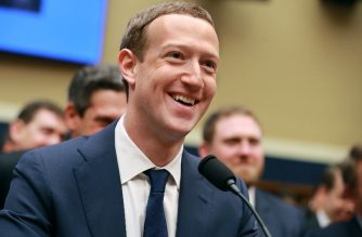 Facebook co-founder, Chairman and CEO Mark Zuckerberg smiles at the conclusion of his testimony before the House Energy and Commerce Committee in the Rayburn House Office Building on Capitol Hill April 11, 2018 in Washington, DC. /Getty Images/AFP
