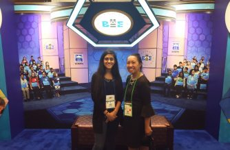 EBC covering 2018 Scripps National Spelling Bee in Maryland. Eagle News Service.
