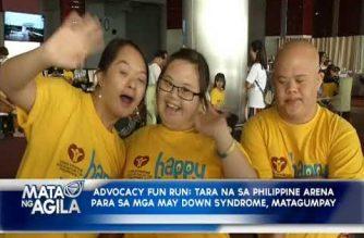 """Advocacy fun run na """"tARA na sa ARenA 2018,"""" naging matagumpay"""
