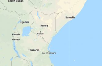 Some of the countries in East Africa.  The region was hit by massive floods that killed hundreds after weeks of torrential rains.  (Photo from Google Maps)