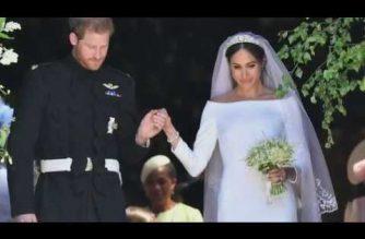 "Watch: Meghan's wedding dress designer says Duchess of Sussex was ""so genuine, warm"" on dress collaboration"