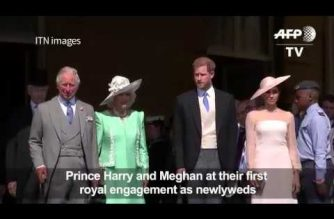 Watch:  Newlyweds Harry and Meghan make first appearance at 70th bday of Prince Charles