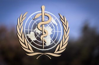 "FILE PHOTO: The logo of the World Health Organization (WHO) is pictured on the facade of the WHO headquarters on October 24, 2017 in Geneva. The head of the World Health Organization on October 22, 2017 reversed his decision to name Zimbabwe's President Robert Mugabe a goodwill ambassador, saying it was in the ""best interests"" of the UN agency. / AFP PHOTO / Fabrice COFFRINI"