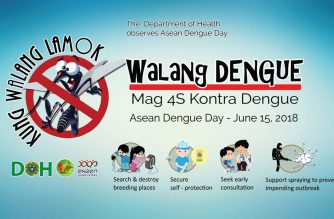 Doh Reiterates 4s Strategy In Dengue Control