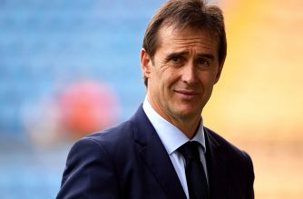Lopetegui is slated to take over Real Madrid following the resignation of Zinedine Zidane as coach. /Uefa Champions League Twitter/
