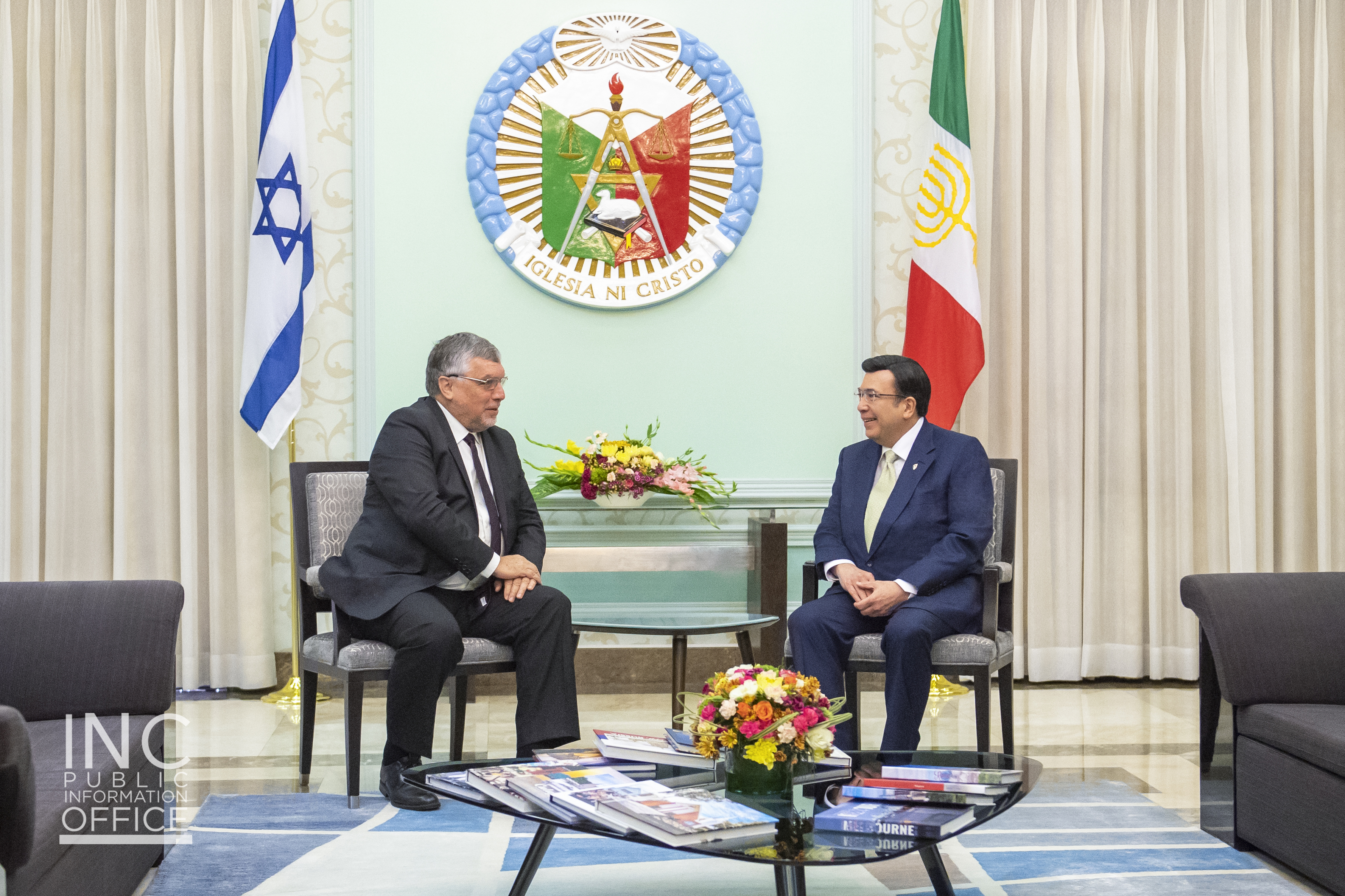 Israel ambassador reaffirms Israel's friendship with the INC in 2nd courtesy call to INC Executive Minister