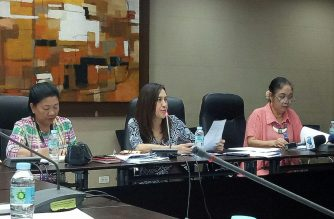 Quezon City Vice Mayor Joy Belmonte stood by the city ordinance banning junk food in schools on Friday, June 29. /Mar Gabriel/Eagle News Service/
