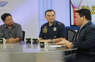 """Look: NCRPO Chief Eleazar visits Net 25's """"Sa Ganang Mamamayan"""""""