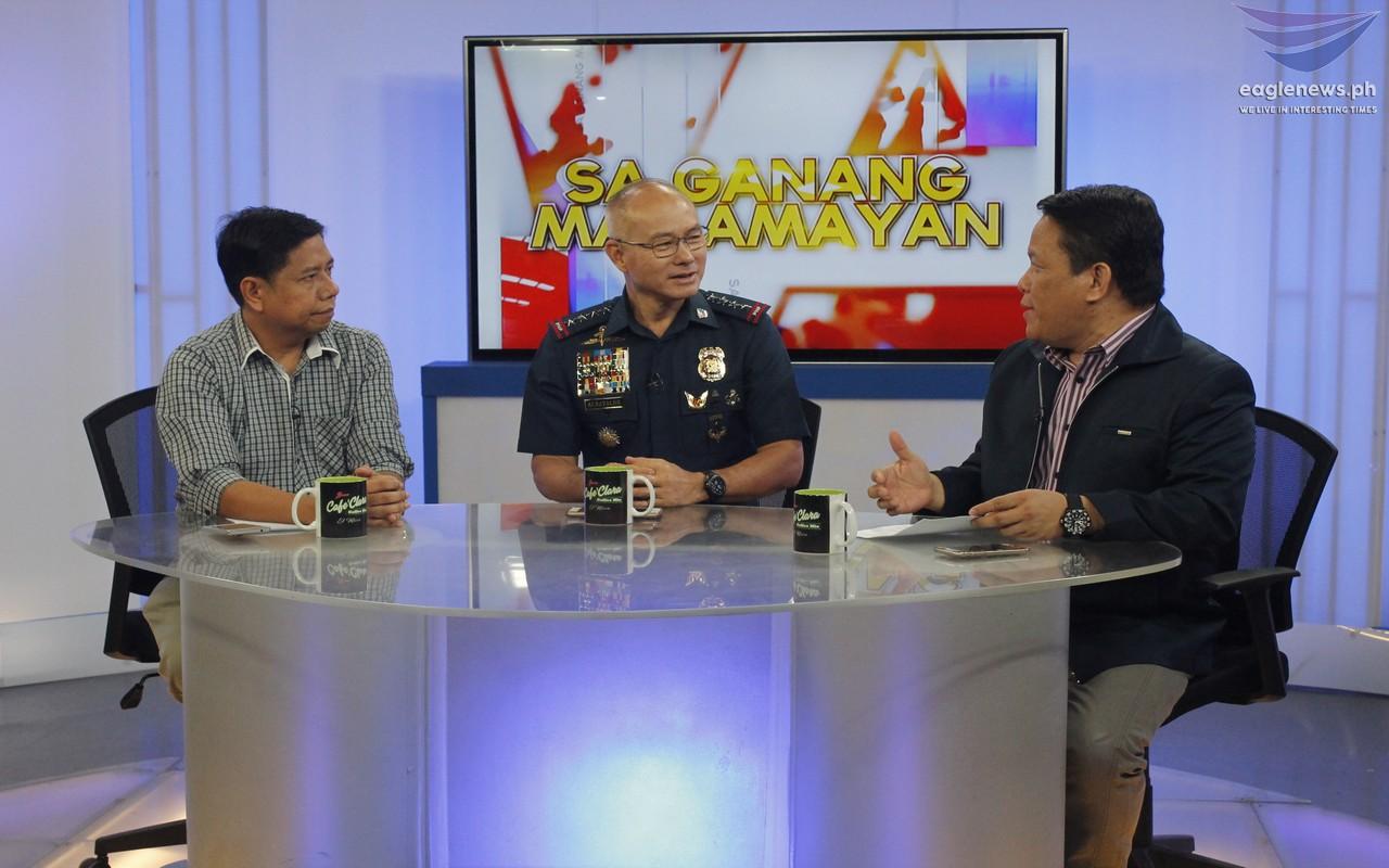 Look: PNP Chief Albayalde visits Sa Ganang Mamamayan