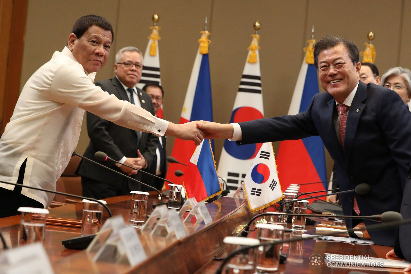 In photos:  PHL President Duterte and South Korean President Moon forge strong bond during meeting