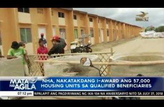57,000 housing units nakatakdang ipamahagi sa qualified beneficiaries – NHA