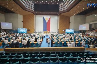 Opening of House of Representatives' Third Regular Session on Monday morning, July 23, 2018.  (Screenshot from RTVM video)