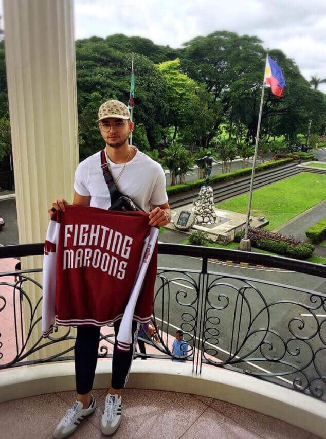 c9631a62b470 Kobe Paras joins UP Fighting Maroons