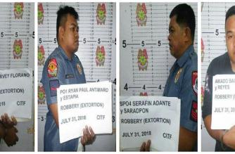 3 pulis, 1 sibilyan na nangongotong umano sa mga junk shop sa Valenzuela, arestado