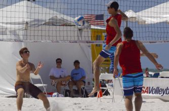 Young volleyball players /Ken Catli/EBC Florida/Eagle News Service/