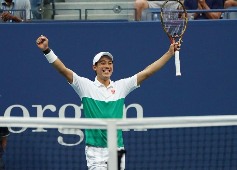 Nishikori, Osaka first Japanese man and woman to reach semi-finals