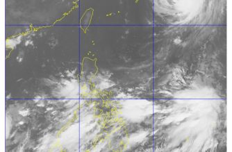 Satellite image courtesy DOST PAGASA