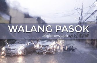 #WalangPasok: Kinder to Grade 12 classes in public schools suspended starting noon