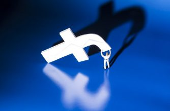 "(FILES) This file photo taken on May 16, 2018 shows a figurine carrying the logo of social network Facebook in Paris. Facebook on October 2, 2018 stepped up ways to battle bullying and harassment at the leading social network. The initiative calls for new tools and programs to help users control ""unwanted, offensive or hurtful experiences on Facebook,"" global head of safety Antigone Davis said in a blog post.""Everyone deserves to feel safe on Facebook,"" Davis said.  / AFP PHOTO / JOEL SAGET"