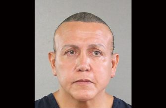"This handout mugshot obtained courtesy of the Broward County Sheriff's Office shows an August 2015 booking photo of Cesar Sayoc, who the US media on October 26, 2018 identifies as the suspect in connection with 12 suspicious packages and pipe bombs sent to critics of US President Donald Trump. - US investigators have arrested the suspect in Florida in connection with 12 suspicious packages and pipe bombs sent to critics of Donald Trump in a days-long spree that has inflamed the United States ahead of key midterm elections. (Photo by HO / BROWARD COUNTY SHERIIF'S OFFICE / AFP) / == RESTRICTED TO EDITORIAL USE  / MANDATORY CREDIT:  ""AFP PHOTO /  BROWARD COUNTY SHERIFF'S OFFICE"" / NO MARKETING / NO ADVERTISING CAMPAIGNS /  DISTRIBUTED AS A SERVICE TO CLIENTS  =="