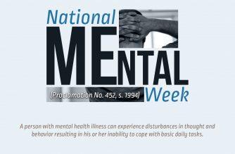 INFOGRAPHICS: Mental Health Week