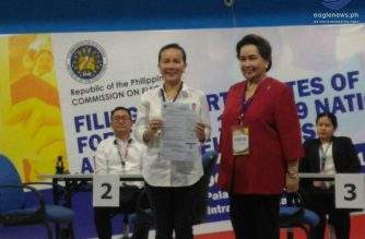 News in photos: Senator Grace Poe files her certificate of candidacy