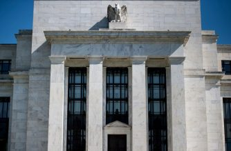(FILES) This this file photo taken on May 02, 2018 shows the US Federal Reserve in Washington, DC. - Wage gains at long last have made an appearance in the US economy after a baffling absence amid robust job growth but the Federal Reserve is expected to hold its fire next week. Central bankers certainly will take notice of the recent data, with especial focus on everything contributing to inflation, but have made it clear they are committed to a gradual pace of increases in the benchmark lending rate, meaning the fourth hike of the year will not come until December. (Photo by Brendan Smialowski / AFP)
