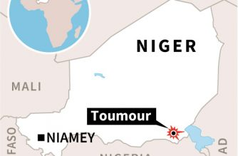 Eight dead as gunmen storm French drilling camp in Niger