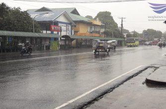 Klase sa pribado at pampublikong paaralan sa Negros Occidental kanselado na dahil sa bagyong Samuel