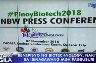 Benepisyo ng biotechnology, ilalahad ng DOST
