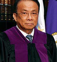 Lucas Bersamin is the new Chief Justice of the Supreme Court./SC/
